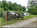 SK7084 : Rolls Royce abandoned in a farm yard by Graham Hogg