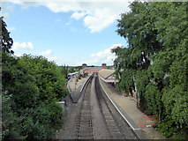 SP1955 : Stratford-upon-Avon Railway Station by PAUL FARMER