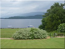 NS4187 : View of Loch Lomond from Ross Priory by Stanley Howe