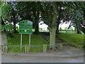 SK4936 : The entrance to Queen Elizabeth II Park, Stapleford by Alan Murray-Rust