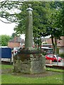 SK4837 : The Old Cross, Stapleford by Alan Murray-Rust