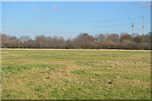 TQ3586 : Playing fields in the Lea Valley by N Chadwick