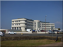 SD4264 : Morecambe's Midland Hotel by Stephen Craven