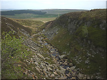 NY8407 : Gorge at Bleaberry Force by Karl and Ali