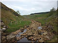 NY8509 : The River Belah sinks in its bed by Karl and Ali
