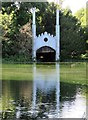 SU8394 : The Boathouse in West Wycombe Park by Steve Daniels