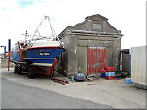 C5350 : Boat and former lifeboat station, Bunagee by Kenneth  Allen
