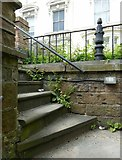 SK5640 : Steps and railings at Brunel Terrace, Derby Road by Alan Murray-Rust