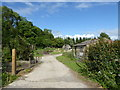 ST9292 : Former WW2 infirmary site at RAF Long Newnton by Vieve Forward
