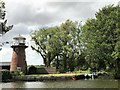 TG3217 : Dydall's or Didler's Drainage Mill near Hoveton Marshes in Norfolk by Richard Humphrey