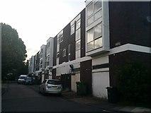 TQ1672 : Flats by Dukes Avenue, Ham by David Howard