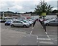 SO9622 : Path to Sainsbury's, Oakley, Cheltenham by Jaggery