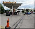SO9622 : Sainsbury's Oakley fuel filling station, Cheltenham by Jaggery