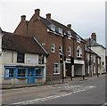 SU4666 : Cloth & Scissors in Newbury  by Jaggery