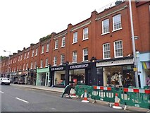 TQ2677 : Shops on King's Road, Chelsea by David Howard