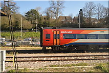 SX9193 : South West train, Exeter Sidings by N Chadwick