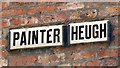NZ2563 : Sign for Painter Heugh, NE1 by Mike Quinn