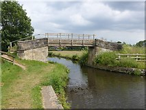 SK5023 : Bridleway bridge 44 over the Zouch Cut by Alan Murray-Rust