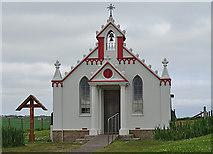 HY4800 : Italian Chapel by Anne Burgess