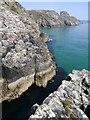 NB5450 : Geodha Gob nan Sgarbh, Isle of Lewis by Claire Pegrum