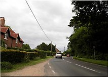 SU1012 : Daggons Road, Alderholt by David Howard