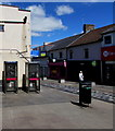 ST1599 : Two BT phoneboxes, High Street, Bargoed by Jaggery