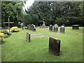 SJ8640 : Churchyard of Trentham Parish Church by Jonathan Hutchins