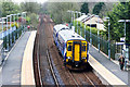 NS4049 : Class 156 DMU arrives at Dunlop Railway Station by Adam Forsyth