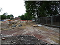 SE3321 : The drains go in on the Redrow housing site by Christine Johnstone