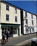 SX2553 : Treleavens Luxury Cornish Ice Cream shop, Fore Street, East Looe by Jaggery