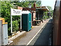 TG0307 : East platform, Thuxton Station, Mid-Norfolk Railway by Christine Johnstone