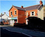 SJ3057 : Castle Pharmacy, 38 High Street, Caergwrle, Flintshire  by Jaggery