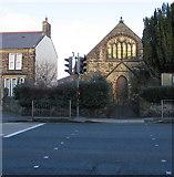 SJ3057 : South side of Caergwrle Presbyterian Chapel, Flintshire by Jaggery