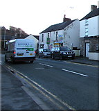 SJ3057 : Booker Direct van, High Street, Caergwrle, Flintshire by Jaggery