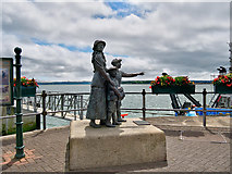 W7966 : Annie Moore Monument by David Dixon