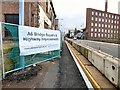 SJ8990 : A6 Bridge Repairs & Highway Improvements by Gerald England