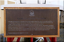 W7966 : Cork Harbour Tragedy Plaque by David Dixon