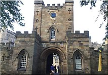 NZ2742 : Entrance to Durham Castle by Chris Thomas-Atkin
