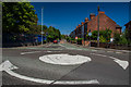 SK3516 : Derby Road roundabout, Ashby by Oliver Mills