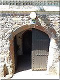 ST0310 : Willand: porch at St Mary's church by Martin Bodman
