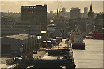 NJ9505 : Aberdeen Harbour, Scotland  by Andrew Tryon