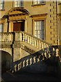 SO8844 : North entrance and steps, Croome Court by Philip Halling