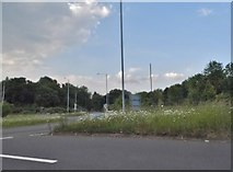 SP0856 : The Arrow Roundabout, Alcester by David Howard