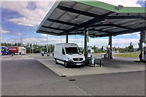 S6559 : Fuel Forecourt at Paulstown Services by David Dixon