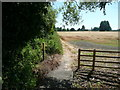 TL1840 : Footpath from Henlow at Langford Road by Humphrey Bolton