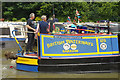 SP5365 : 'Barrow' at Braunston Historic Narrowboat Rally by Stephen McKay