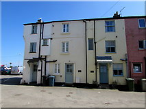 SX2553 : Sea View Cottages, East Looe by Jaggery