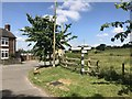 SJ8051 : Road junction near Bignall End by Jonathan Hutchins