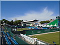 TV6198 : Devonshire Park - view from court 2 by Paul Gillett