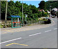 ST2192 : Twyncarn Road bus stop and shelter, Pontywaun by Jaggery